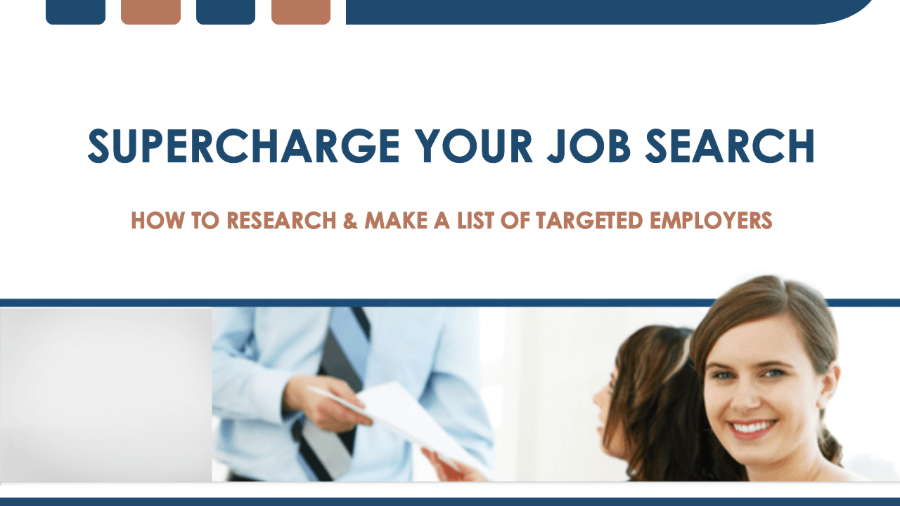 How To Research & Target Employers