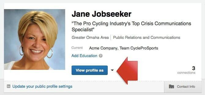 Job Seekers Update LinkedIn Profile Image 2