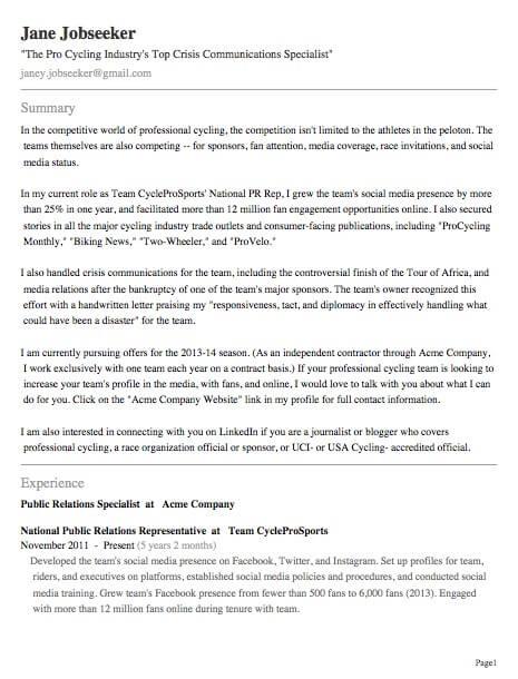 Job Seekers Update LinkedIn Profile Image 4