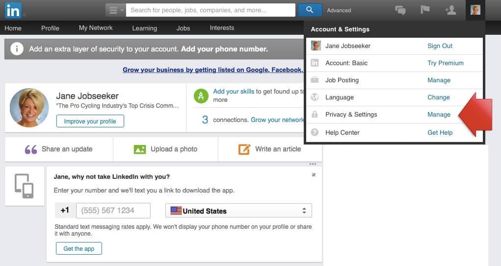 Job Seekers Update LinkedIn Profile Image 5