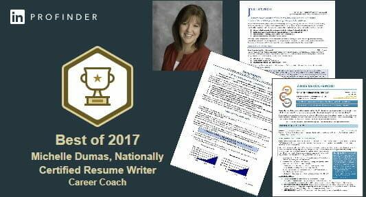 Michelle Dumas LinkedIn Profinder Best of 2017