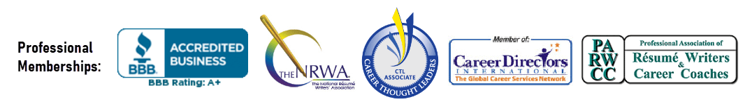 Memberships in Professional Resume Writing Associations