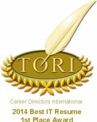 Best IT Resume Award