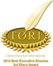 Best Executive Resume Award